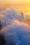 ύδωρ ιχνών Στοκ Φωτογραφίες