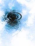 ύδωρ κυματώσεων Στοκ Εικόνες