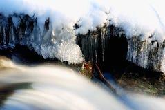 ύδωρ πάγου Στοκ Εικόνες