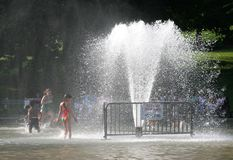 ύδωρ πάρκων Στοκ Φωτογραφίες