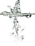 ύδωρ παφλασμών στοκ φωτογραφία