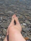ύδωρ ποδιών στοκ εικόνες με δικαίωμα ελεύθερης χρήσης