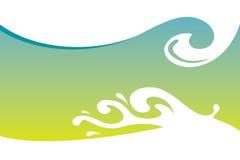 ύδωρ προτύπων παφλασμών Στοκ Εικόνα