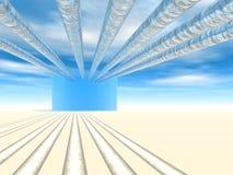 ύδωρ πύργων διανομής στοκ φωτογραφία με δικαίωμα ελεύθερης χρήσης