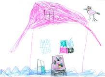 ύδωρ σπιτιών Στοκ εικόνες με δικαίωμα ελεύθερης χρήσης