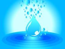 ύδωρ σχεδίου απεικόνιση αποθεμάτων