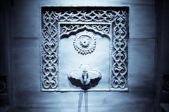 ύδωρ τοίχων στροφίγγων Στοκ Φωτογραφία