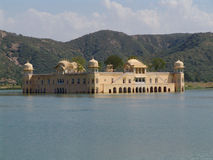 ύδωρ του Rajasthan παλατιών του Jaipur j Στοκ Φωτογραφίες