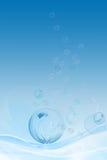 ύδωρ φυσαλίδων Στοκ φωτογραφία με δικαίωμα ελεύθερης χρήσης