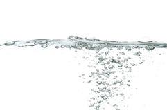 ύδωρ φυσαλίδων στοκ εικόνα