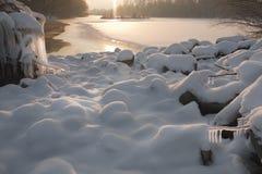 ύδωρ χιονιού πάγου 2 Στοκ εικόνα με δικαίωμα ελεύθερης χρήσης