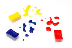 ύδωρ χρωμάτων χρώματος Ελεύθερη απεικόνιση δικαιώματος