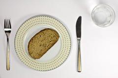 ύδωρ ψωμιού Στοκ εικόνα με δικαίωμα ελεύθερης χρήσης