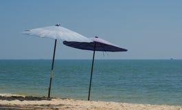 δύο ομπρέλες Στοκ Φωτογραφίες