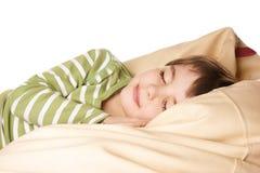 ύπνος αγοριών Στοκ Εικόνα