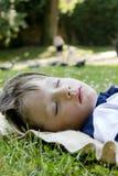 ύπνος αγοριών Στοκ εικόνες με δικαίωμα ελεύθερης χρήσης
