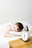 ύπνος αγοριών Στοκ φωτογραφία με δικαίωμα ελεύθερης χρήσης