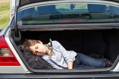 ύπνος αγοριών Στοκ Εικόνες