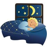 ύπνος αγοριών ελεύθερη απεικόνιση δικαιώματος