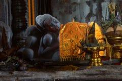Ύπνος Βούδας στον κύριο πύργο gopura Στοκ Φωτογραφίες