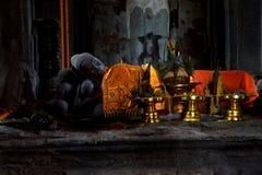 Ύπνος Βούδας στον κύριο πύργο gopura Στοκ Εικόνες