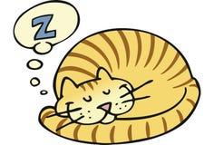 ύπνος γατών απεικόνιση αποθεμάτων