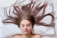 Ύπνος γυναικών Στοκ Εικόνες