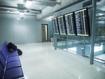 Ύπνος επιβατών στις καρέκλες Στοκ Εικόνες