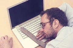 Ύπνος επιχειρηματιών Στοκ Εικόνες
