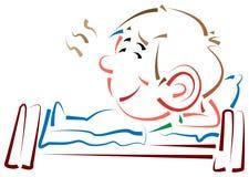 ύπνος κατσικιών Στοκ Εικόνες
