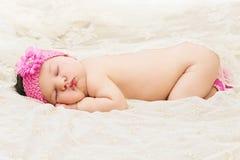 ύπνος κοριτσακιών Στοκ φωτογραφίες με δικαίωμα ελεύθερης χρήσης