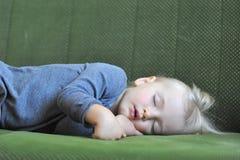 ύπνος κοριτσιών μικρός Στοκ Φωτογραφία