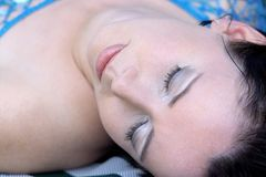 ύπνος ομορφιάς Στοκ εικόνα με δικαίωμα ελεύθερης χρήσης