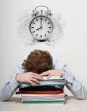 ύπνος υπαλλήλων στοκ εικόνες με δικαίωμα ελεύθερης χρήσης