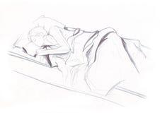 ύπνος 2 φάσεων Στοκ εικόνες με δικαίωμα ελεύθερης χρήσης