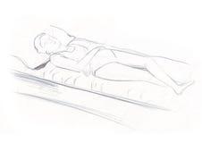 ύπνος 3 φάσεων Στοκ φωτογραφίες με δικαίωμα ελεύθερης χρήσης
