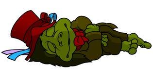 Ύπνος Goblin νερού Στοκ Εικόνα