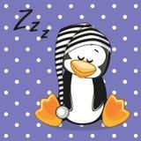 Ύπνος penguin Στοκ φωτογραφία με δικαίωμα ελεύθερης χρήσης