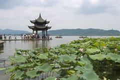 δύση λιμνών hangzhou της Κίνας στοκ φωτογραφίες με δικαίωμα ελεύθερης χρήσης