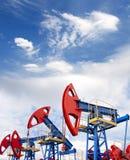 δύση της Σιβηρίας πετρελαίου βιομηχανίας διάτρυσης καλά Στοκ Φωτογραφίες