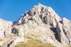 δύσκολη κλίση βουνών Στοκ φωτογραφία με δικαίωμα ελεύθερης χρήσης
