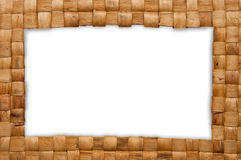 ύφανση πλαισίων καλαθιών Στοκ φωτογραφία με δικαίωμα ελεύθερης χρήσης