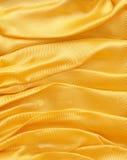 ύφασμα ανασκόπησης χρυσό Στοκ Φωτογραφίες
