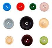 ύφασμα κουμπιών Στοκ Φωτογραφία