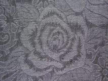 Ύφασμα με ένα λουλούδι Στοκ φωτογραφία με δικαίωμα ελεύθερης χρήσης