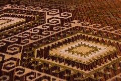 Ύφασμα με τις γεωμετρικές μορφές Στοκ φωτογραφία με δικαίωμα ελεύθερης χρήσης