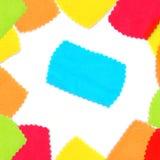ύφασμα πολύχρωμο Στοκ εικόνες με δικαίωμα ελεύθερης χρήσης