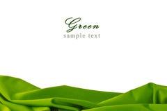 ύφασμα πράσινο Στοκ εικόνα με δικαίωμα ελεύθερης χρήσης