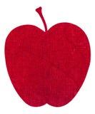 Ύφασμα τυπωμένων υλών της Apple Στοκ φωτογραφίες με δικαίωμα ελεύθερης χρήσης