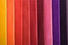 ύφασμα χρώματος ακατέργαστο Στοκ Φωτογραφία